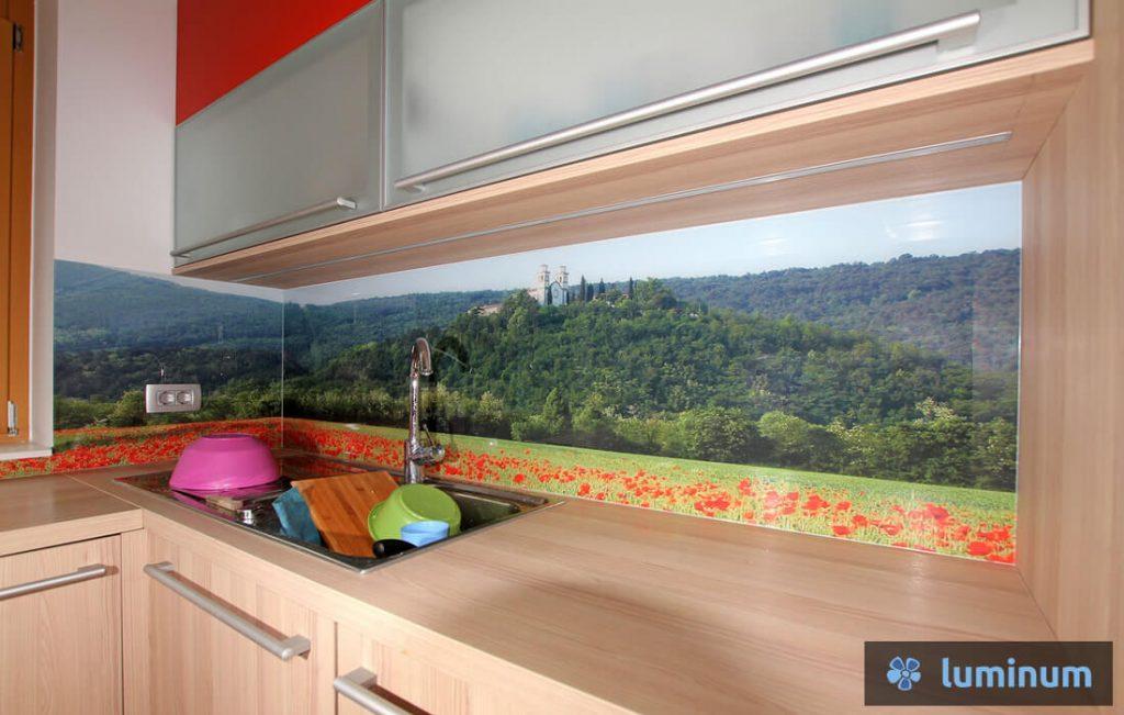 Kuhinjska stekla s fotografijo po lastni izbiri