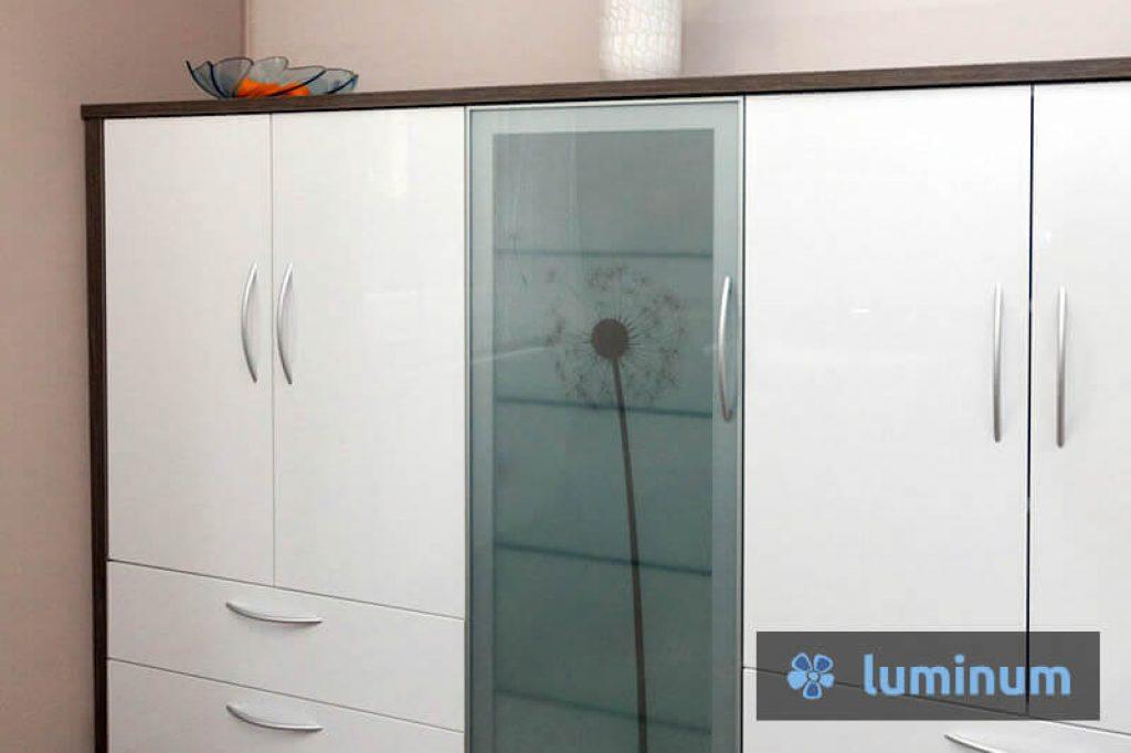 Stenska steklena obloga luminum